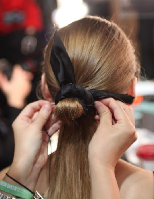 Human Hair Extension Ponytail