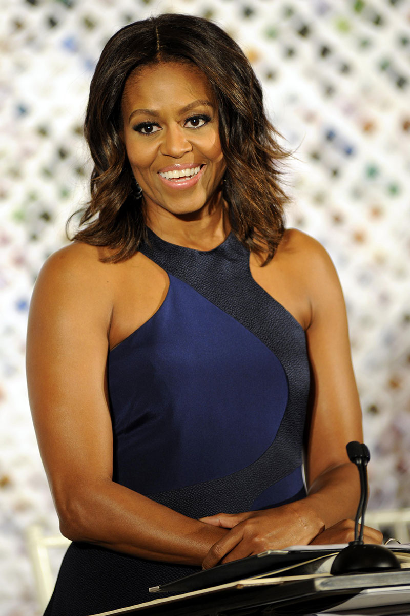 Michelle Obama Human Hair Extensions