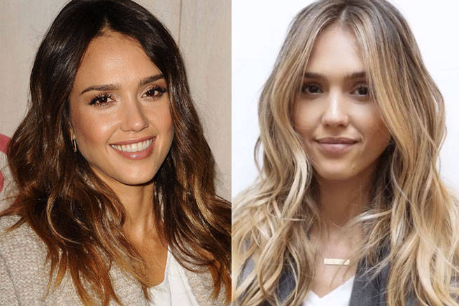 Follow the latest hair trends with human hair extensions jessica alba human hair extensions pmusecretfo Image collections