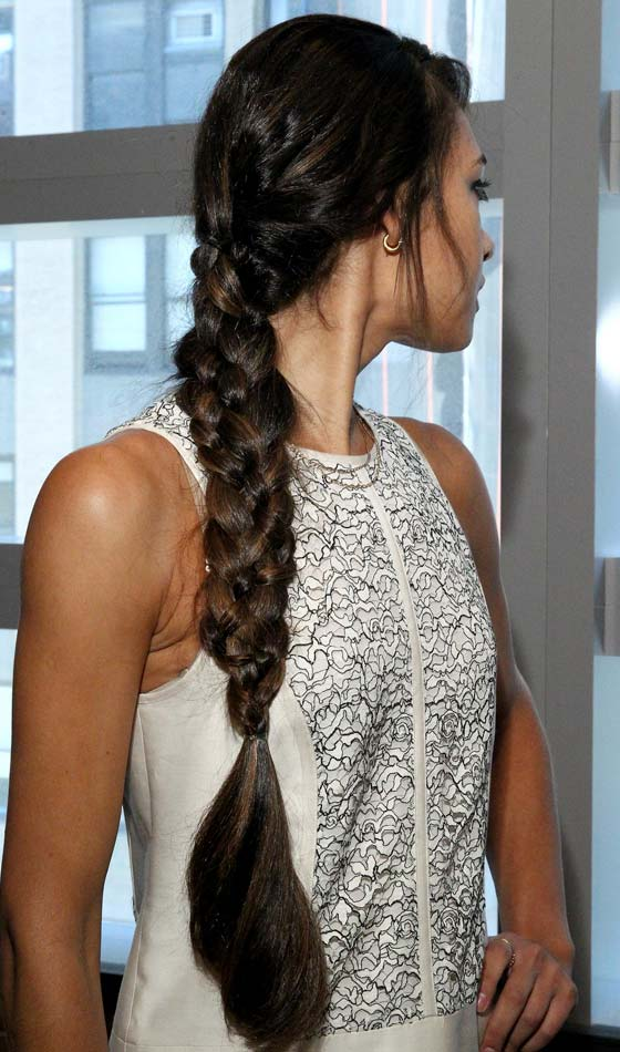 1.Simple-Messy-3-Strand-Braid