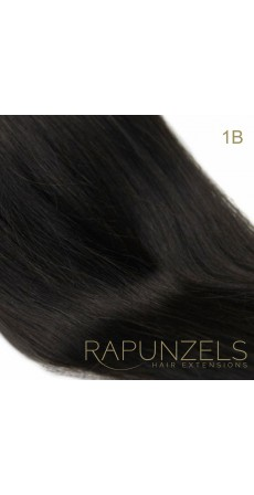 "110 Gram 18"" Hair Weave/Weft Colour #1B Natural Off Black Black (Full Head)"