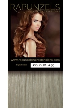 "1 Gram 20"" Pre Bonded Nail Tip Colour #60 Lightest Blonde (25 Strands)"