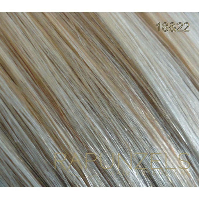 100 Gram 20 Clip In Hair Extensions Colour 1822 Beige Blonde