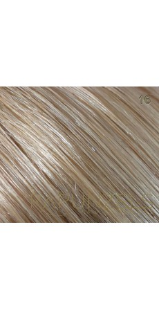 "1 Gram 18"" Nano Tip Colour #16 Caramel Blonde (25 Strands)"