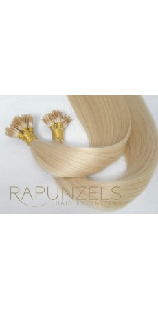 "0.5 Gram 16"" Pre Bonded Stick Tip Colour #613 Bleach Blonde (25 Strands)"