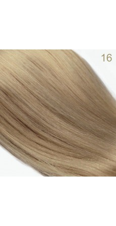 "0.5 Gram 18"" Pre Bonded Stick Tip Colour #16 Caramel Blonde (25 Strands)"