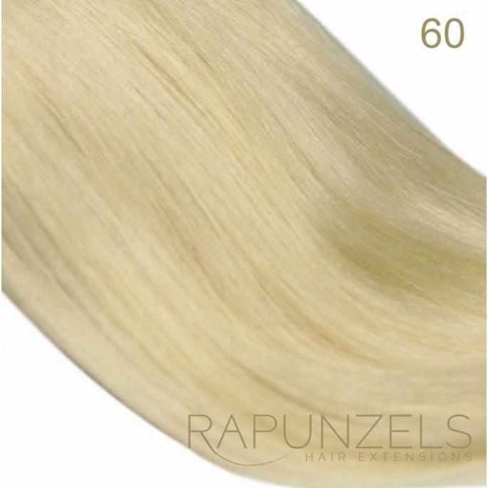 1 Gram 20 Pre Bonded Nail Tip Colour 60 Lightest Blonde 25 Strands