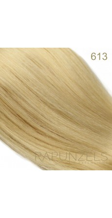 "1 Gram 18"" Nano Tip Colour #613 Bleach Blonde (25 Strands)"