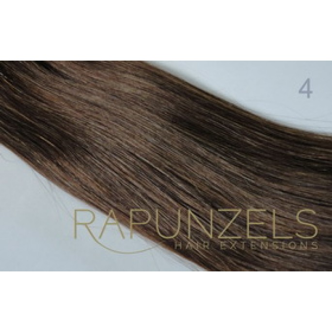 Gram 20 clip in hair extensions colour 4 medium chocolate brown 100 gram 20 clip in hair extensions colour 4 medium chocolate brown 7 pc full head pmusecretfo Images